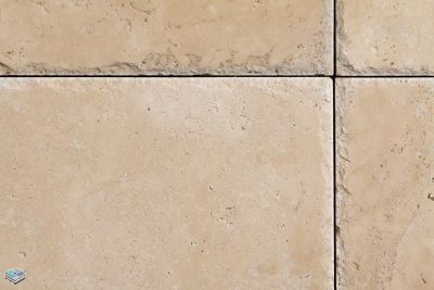 beige travertine Travertine Romano by tile and marble liquidators