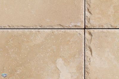 tan travertine CCT Romano by tile and marble liquidators