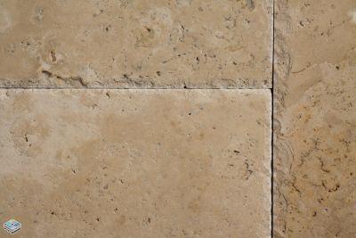 tan travertine CCT Walnut by tile and marble liquidators