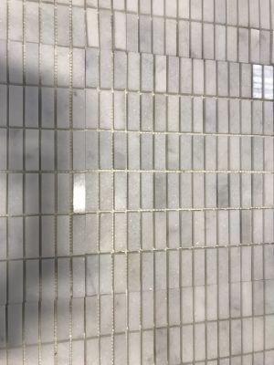 gray, white stone Grey/white Marble Mosaic
