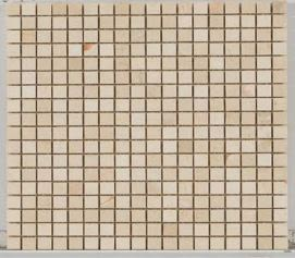 tan natural stone Stone Mosaic Cream Marfil