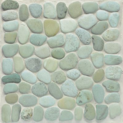 green natural stone ZEN GARDEN TAIPEI RN GREEN 12X12 by walker zanger