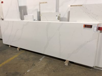 white quartz Calacatta Gold by silestone