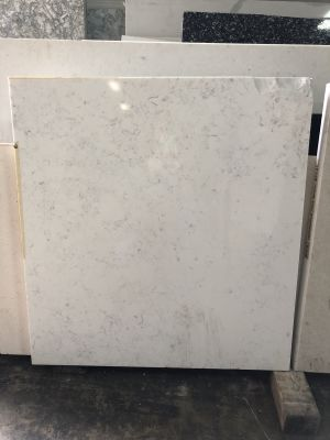 white quartz Cashmere Carara by q premium natural quartz by msi