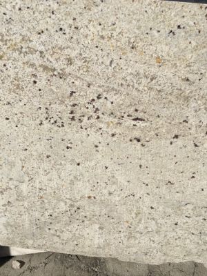 black, gray, tan, white granite Bianco Romano