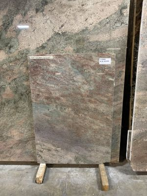 green, red, tan granite Kalahari
