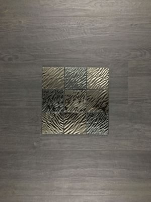 black, gray metallic BLACK WAVE by five star ceramics group