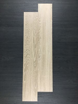 tan, white porcelain OAK NOISETTE
