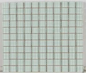 white glass Crystal Glass 1x1  Clear Super White