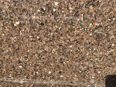 brown, red, tan quartz Serria Madre 3cm by silestone