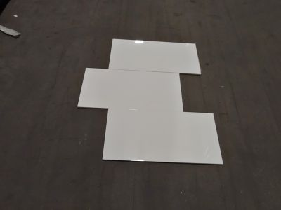 white, beige ceramic 12x24 Blanco Brillo Rectified