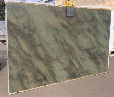 green quartzite Wild West Green 3cm