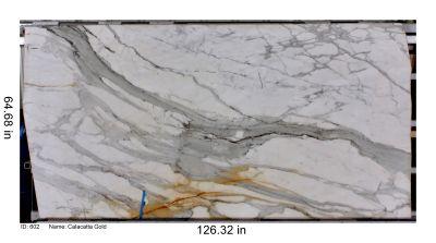 white marble Calacatta Oro