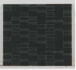 black glass Downtown Glass Matte Nero