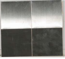 gray metallic Metal Mosaic 4x4 Brushed Stainless Steel