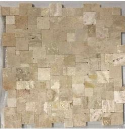 tan marble Magic Stone Travertine White