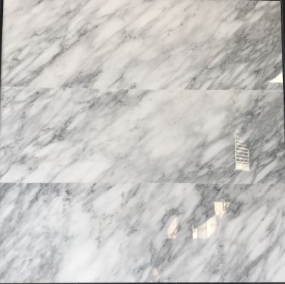 gray, white marble Calacatta Carrara 12x36 Polished Marble Tile by c-line marble and granite