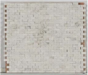 tan marble Stone Mosaic Natural Split Face Carrara