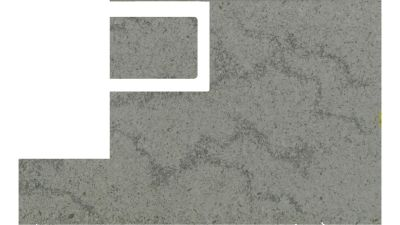gray quartz HIMALAYAN MOON 6611 by caesarstone