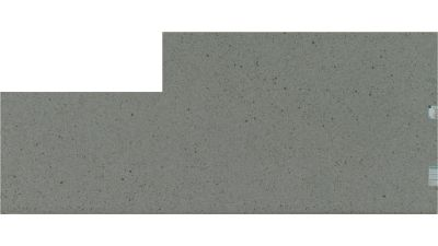 gray quartz RIVERBED POLISHED by silestone