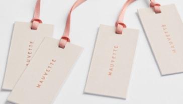 Mauvette clothing labels