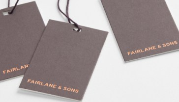 Fairlane & Sons clothing labels