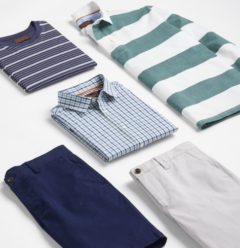Selection of 5 casual men's clothes