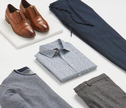 Selection of 5 smart men's clothes