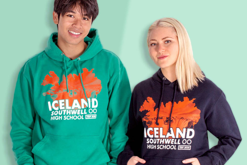 school trip group hoodies