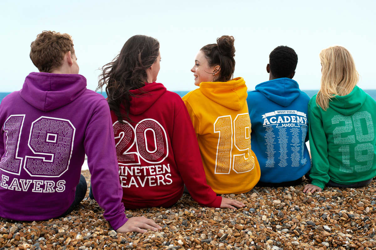 leavers hoodies sweatshirts jumpers 2019 back prints