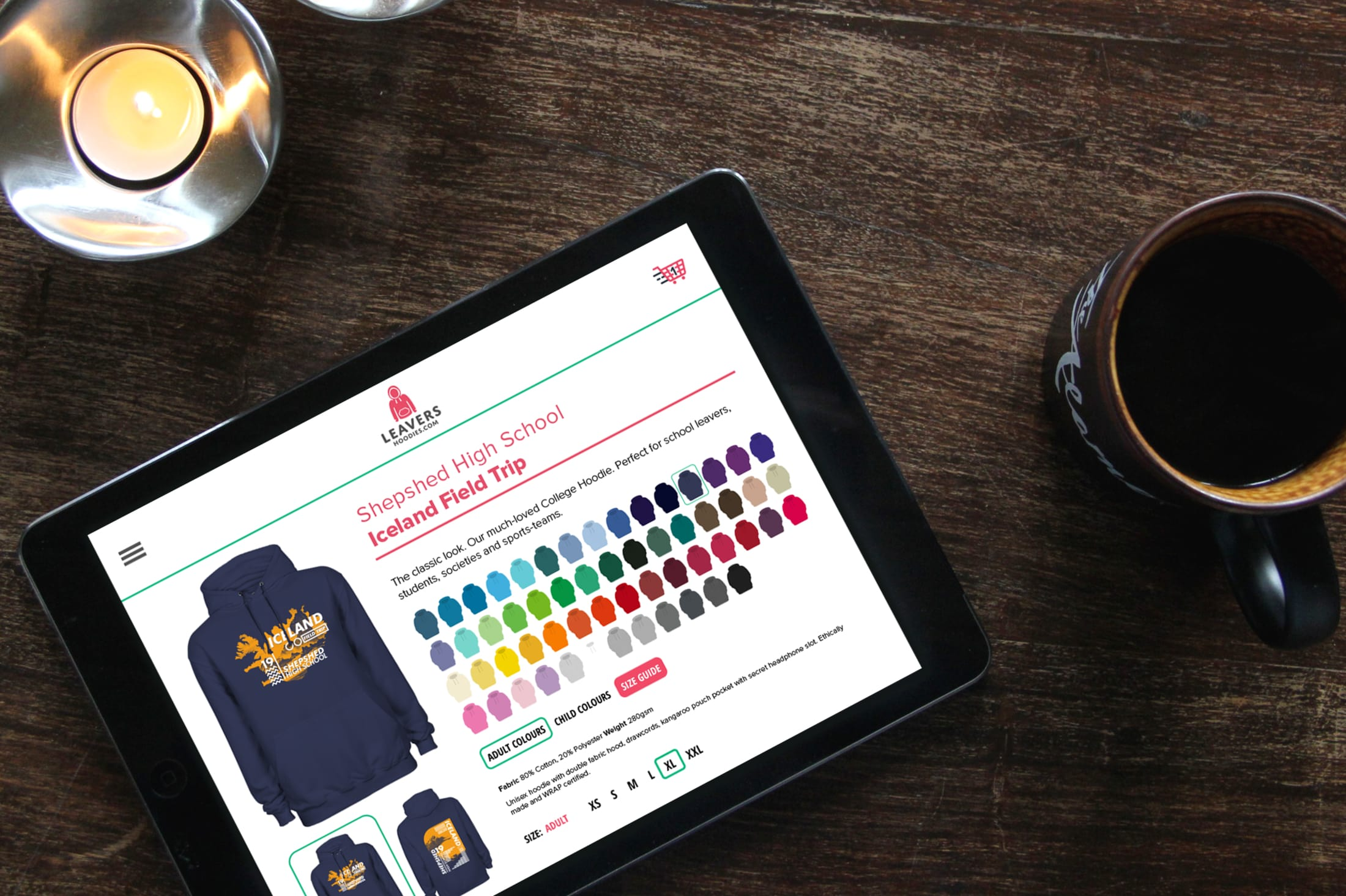 Custom printed school trip hoodies, sweatshirts online shop