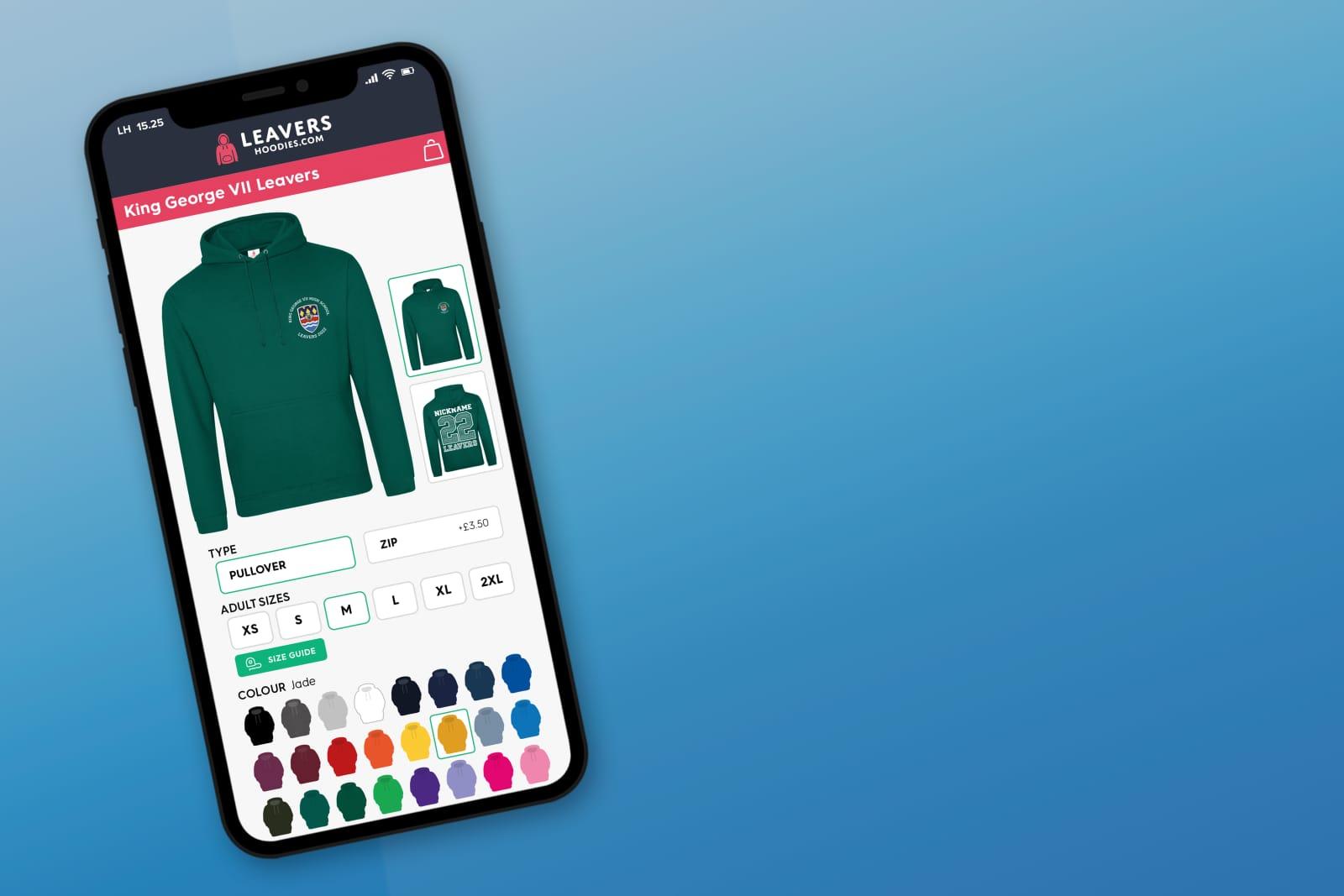 leavers hoodies online store