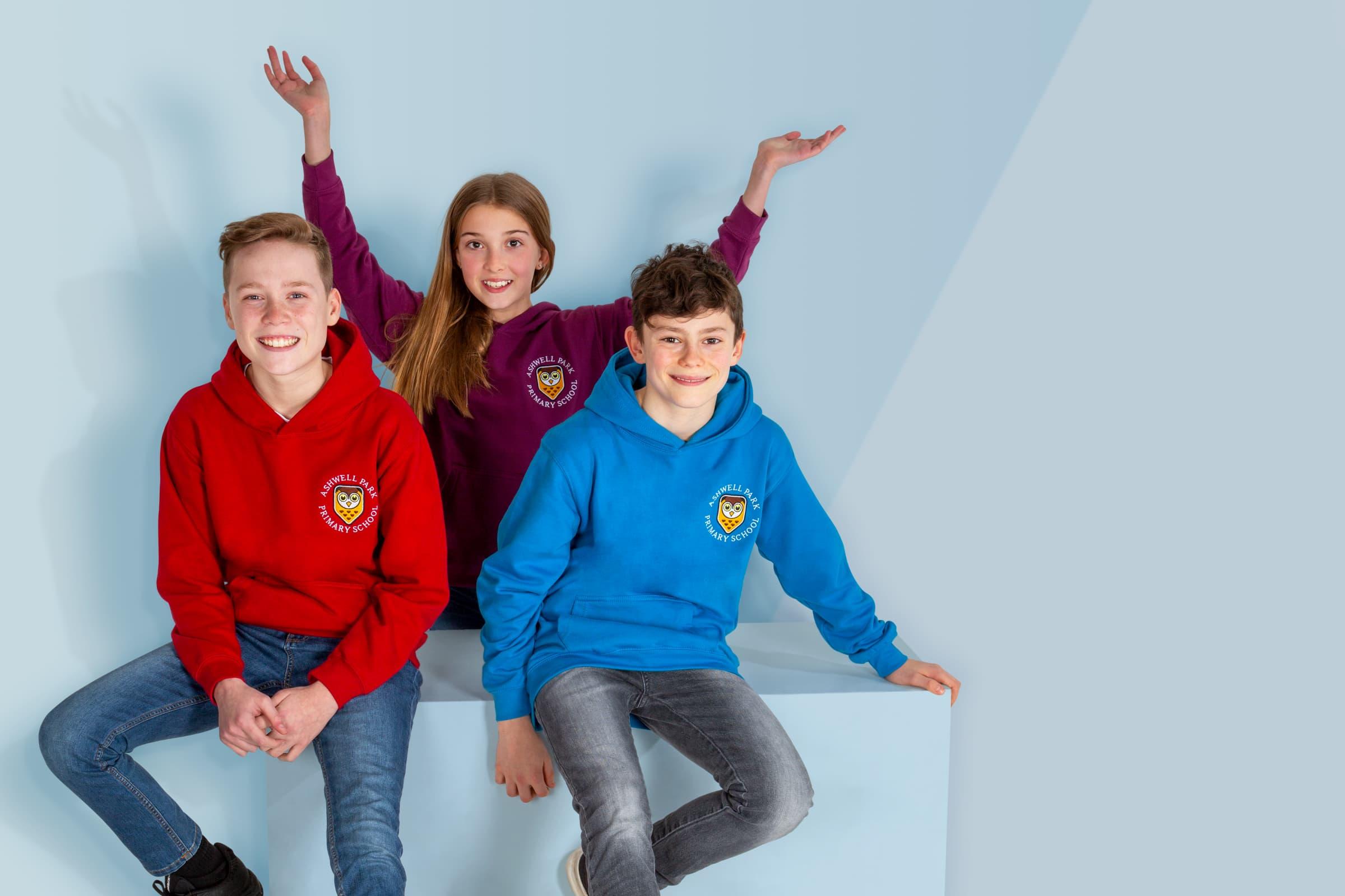 Junior, primary, year 6 leavers hoodies