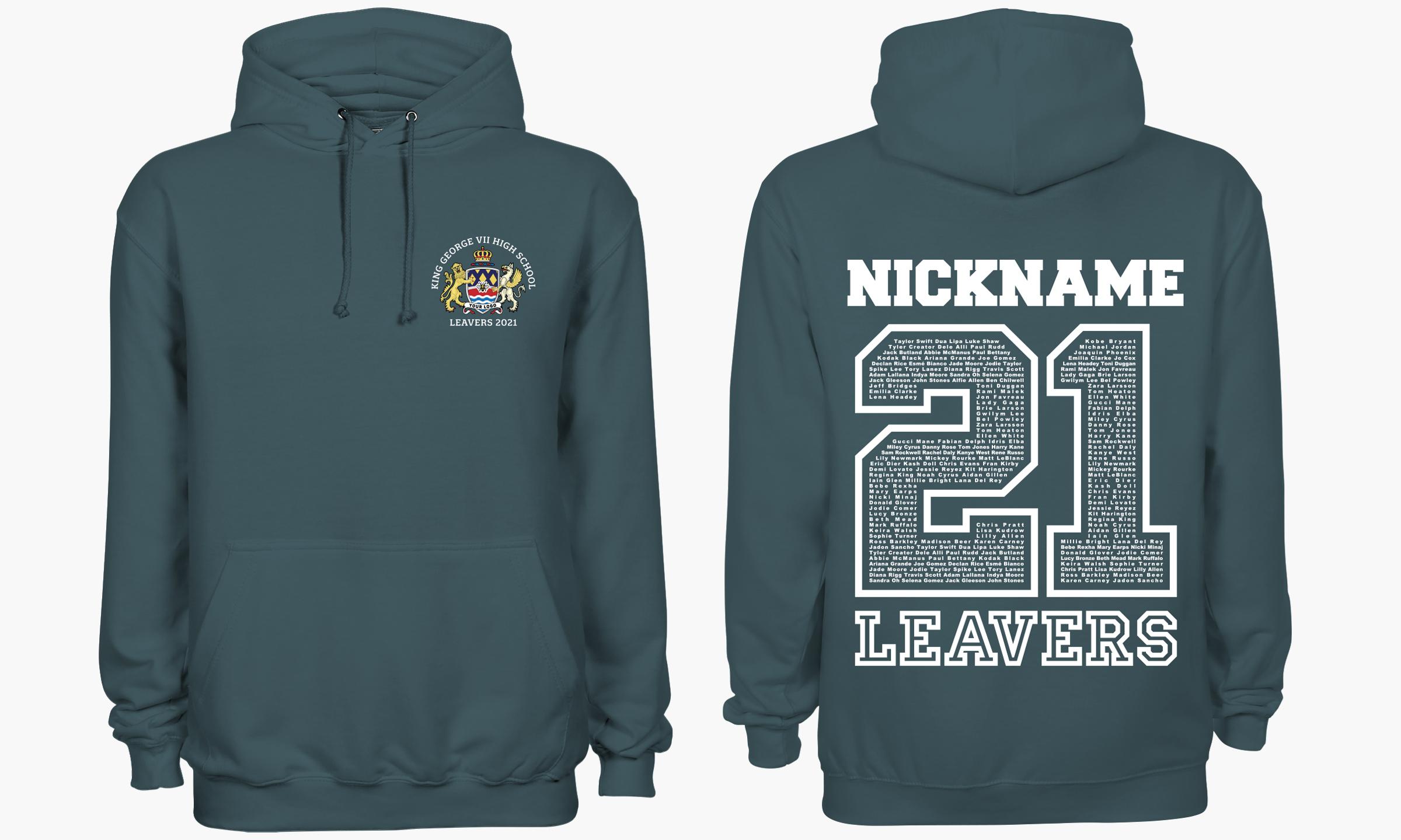 The classic leavers hoodie