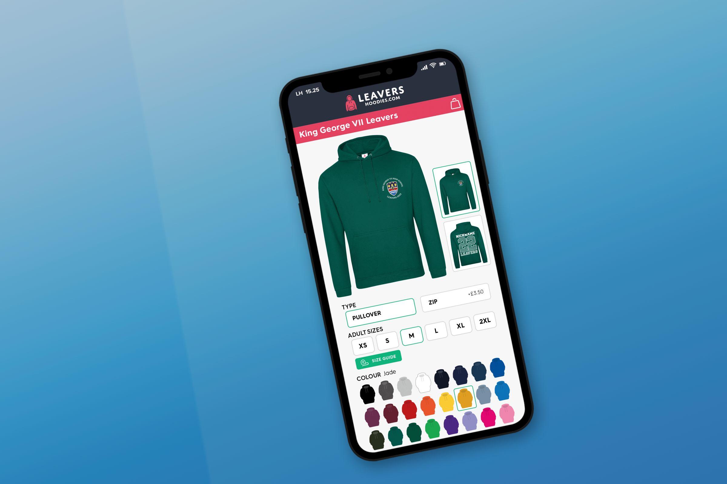 School Leavers Hoodies Online Store