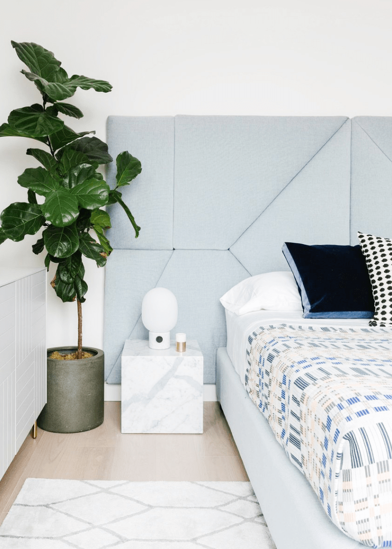Custom Headboard + Residential Space