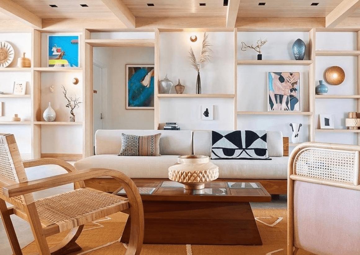 Custom Pillows + Rockaway Hotel