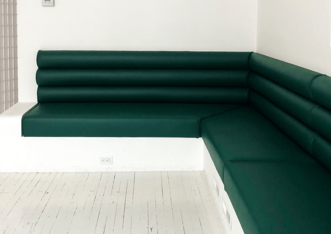 Custom Banquette + Hatch