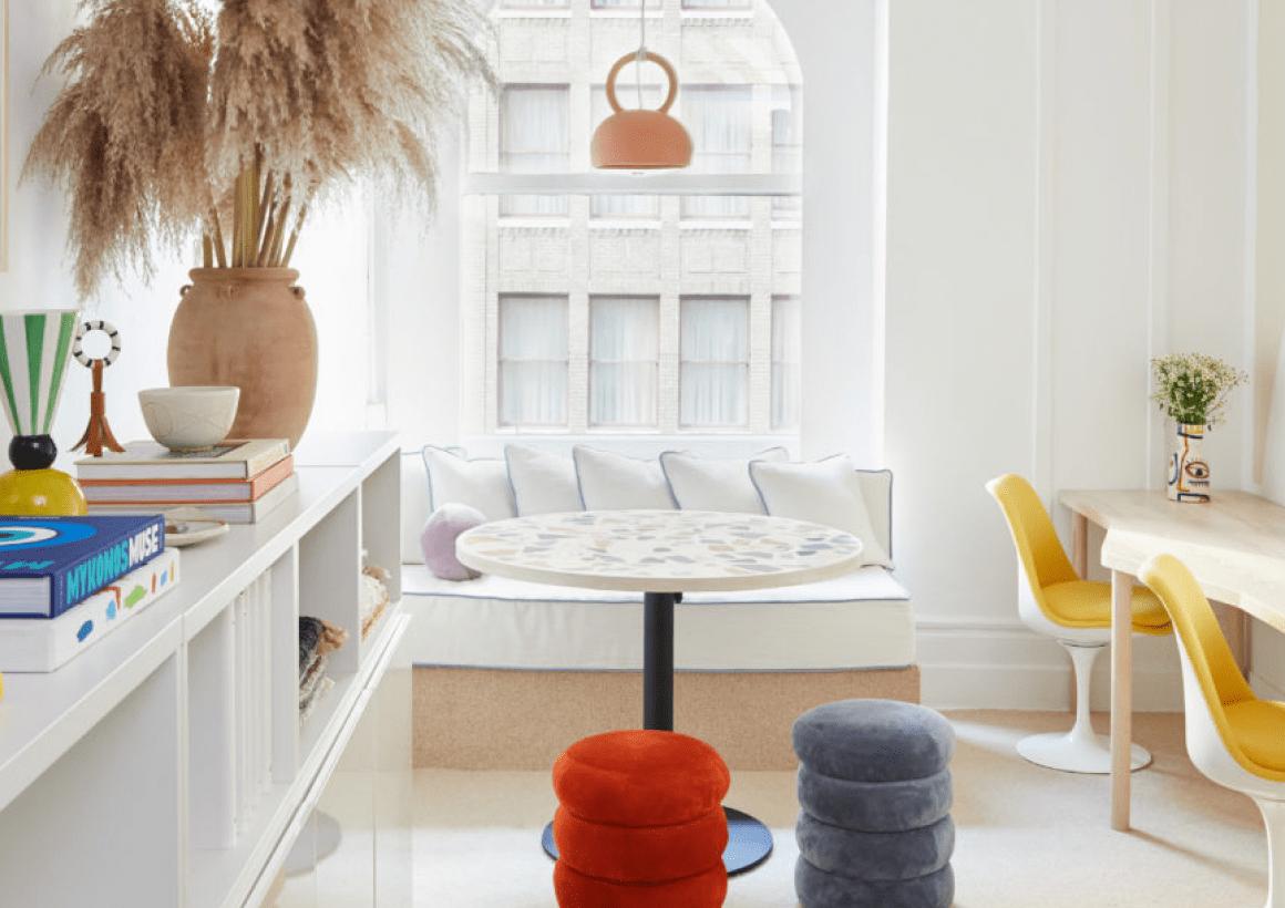 Cushion Seating & Pillows + TR Playhouse