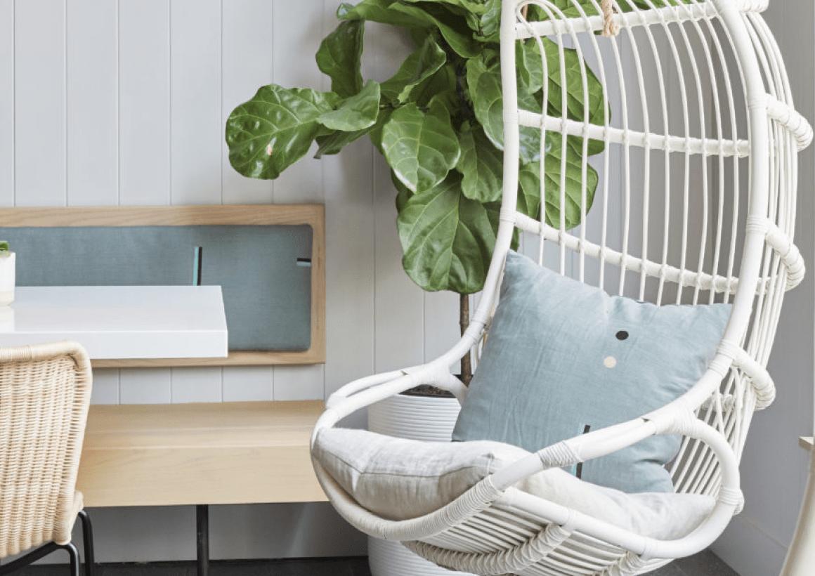 Back Cushion & Pillows + Rawkstar Cafe