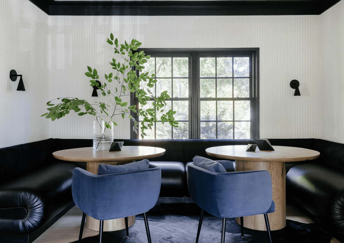 Custom Banquette + Residential Space