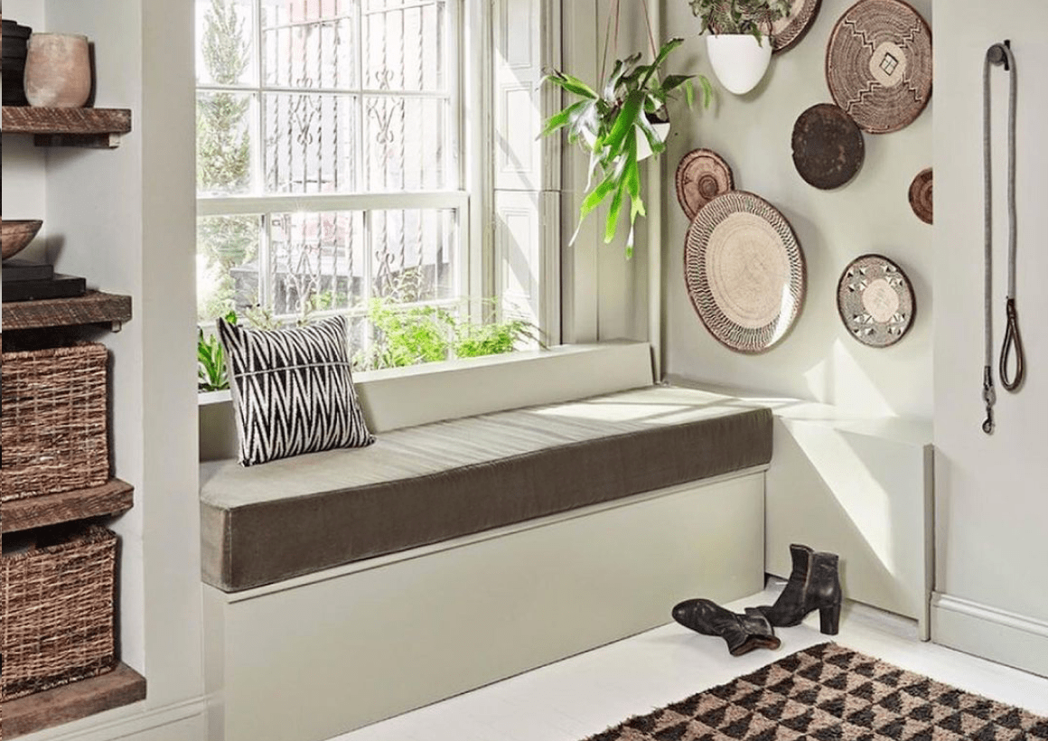 Cushioned Seating + Residential Space