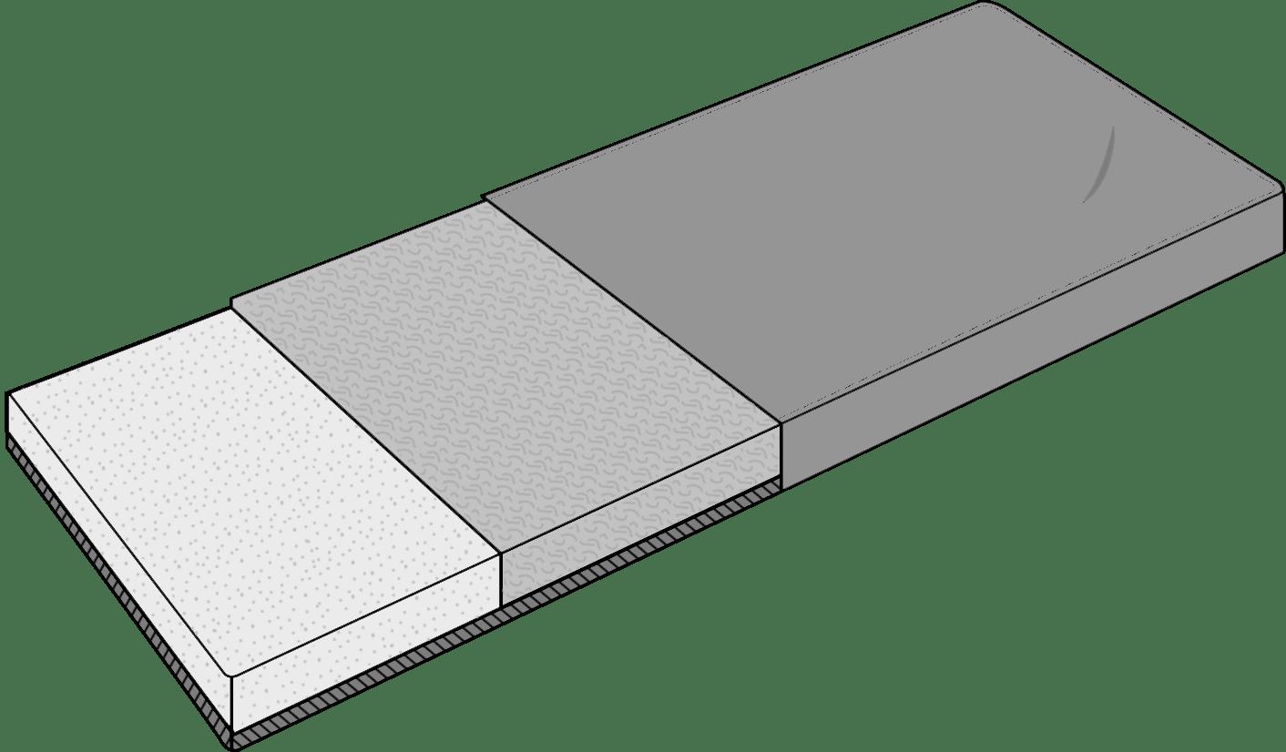 Cameron - Box Cushion with Wood Base