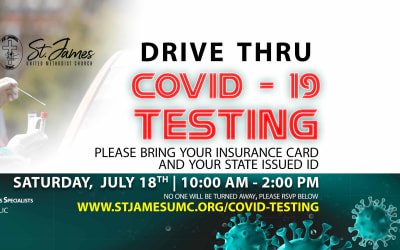 Drive Thru Covid-19 Testing
