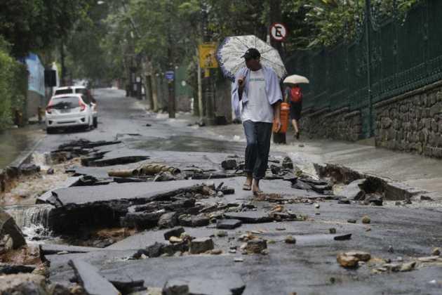 floods in Rio de Janeiro