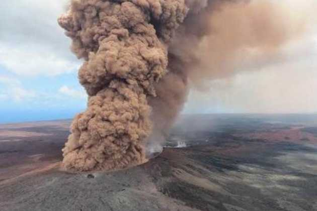 New fissures Hawaii volcano