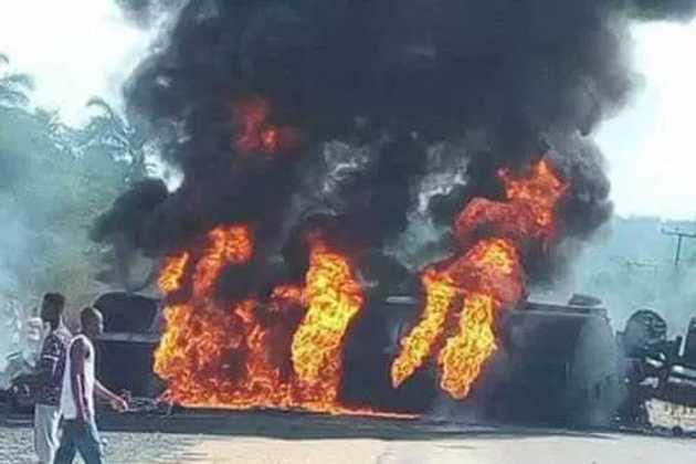 Nigeria oil tankers explosion