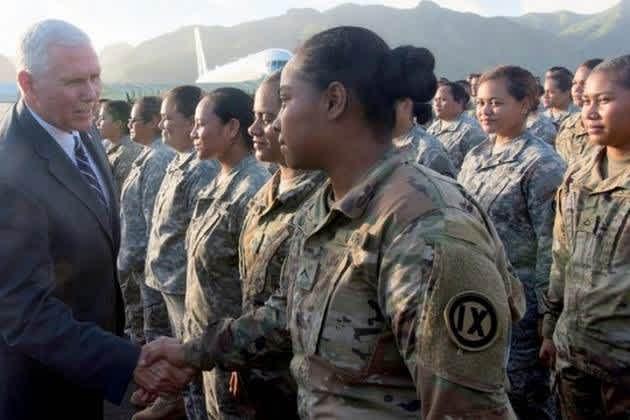 Mike Pence American Samoa