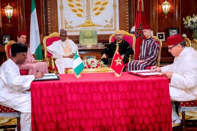Morocco and Nigeria