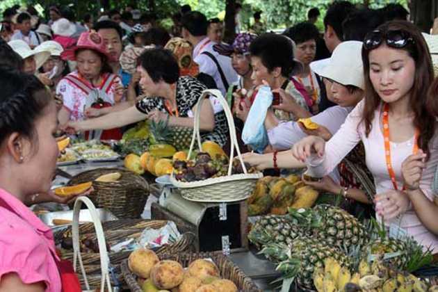 Thailand fruit farmers